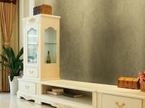 Декоративная цементная штукатурка в отделке гостиной