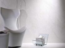 Декоративная текстурная штукатурка в современном интерьере