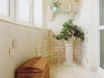 Античный дизайн балкона