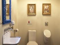 Отделка туалетной комнаты влагостойкой штукатуркой