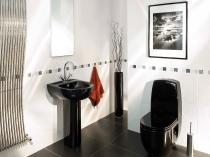 Туалетная комната в стиле арт деко