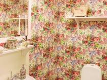 Туалетная комната в стиле прованс