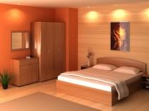 Хорошо освещенная спальня по фэн шуй