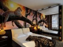 Соответствие тематики рисунка фотообоев дизайну спальни