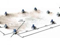Схема столбчатого фундамента для дачной теплицы