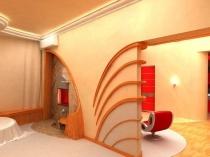 Декоративное оформление стен штукатуркой и молдингом