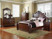 Классическая спальня в строгом английском стиле