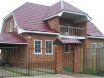 Мансардный балкон под отдельной крышей