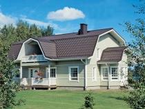 Многощипцовая мансардная крыша