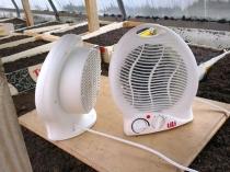 Воздушные обогреватели для установки в теплицу