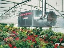 Установка в теплице оборудования для обогрева и проветривания