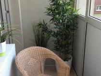 Пример оформления небольшого балкона