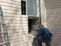 увеличение проема окна