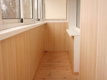 МДФ панели для отделки балкона