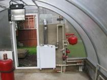 Организация системы автоматического отопления в теплице