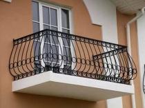Кованый парапет балкона