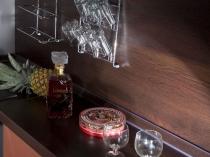 Плинтус с декоративной планкой для столешницы