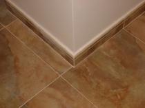 Плинтус из керамической плитки