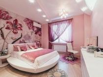 Нежные розовые оттенки для покраски штукатуренных стен