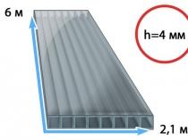 Рекомендуемый для строительства арочных навесов поликарбонат