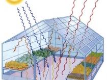 Тепловые потоки в теплице при правильном ее расположении на участке