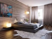 Ремонт напольного покрытия спальни с установкой ламината