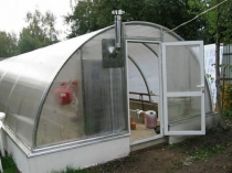 Установка в теплице самодельной системы отопления