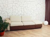 Декоративная штукатурка кракелюр в интерьере комнаты отдыха