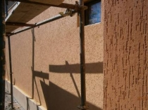 Фактурная штукатурка короед для отделки стен дома