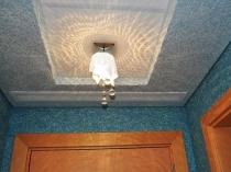 Штукатурка с шелковыми нитями для отделки потолка
