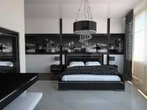 Декоративные стеновые панели в отделке спальни