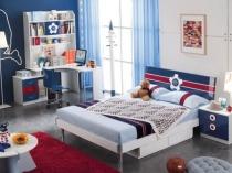Модульная мебель в обустройстве спальни мальчика