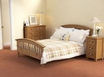 Минималистический дизайн спальни в стиле прованс
