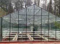 Устройство системы отопления в теплице из стеклопакетов