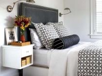 Прикроватная навесная тумбочка для спальни
