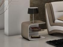 Дизайнерская открытая тумбочка для современной спальни
