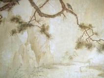 рисунок на венецианской штукатурке