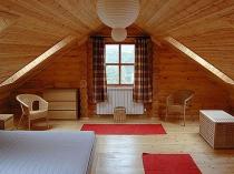 Отделка мансарды деревянного дома