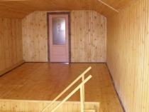 мансарды с деревянной вагонкой внутри