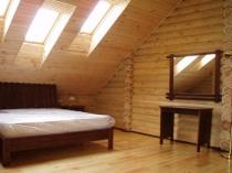 мансарды в деревянном доме
