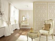 Оби с золотом в полоску и орнаментом в одном помещении