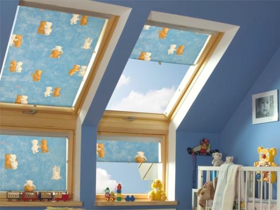 мансардные окна с наклонными и вертикальными створками