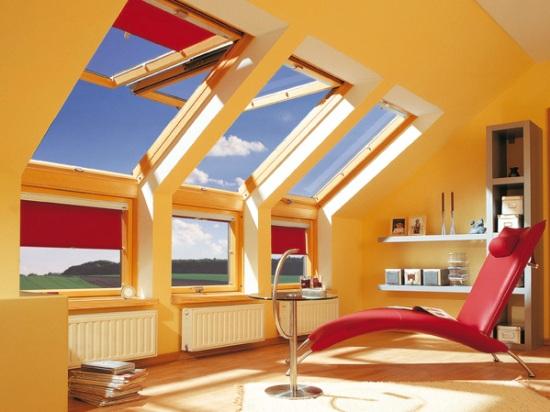 установка мансардных окон над радиаторами отопления