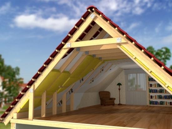 утепление жилого мансардного помещения