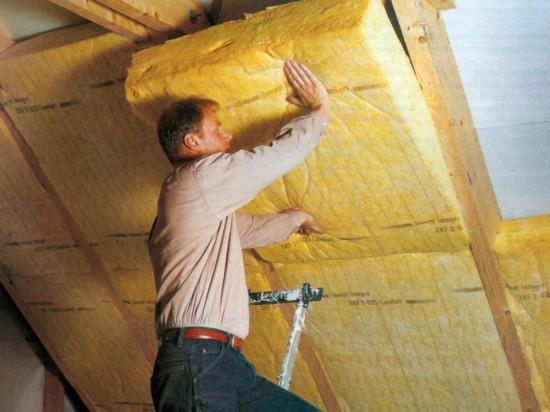 утепление крыши мансарды минеральной ватой