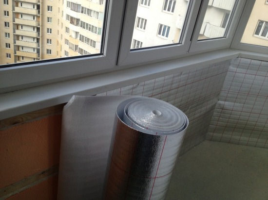 Пароизоляционная пленка для гидроизоляции балкона