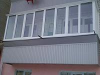 Так выглядит увеличенный балкон