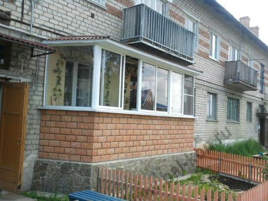 Постройка балкона на фундаменте