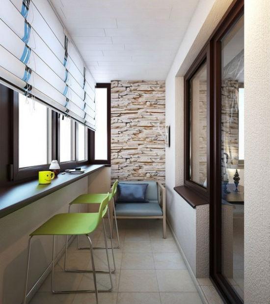 Фото барной стойки для балкона или лоджии