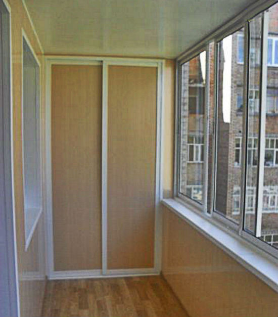 Балконнай шкаф купе